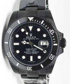 """Replica Uhr Rolex Submariner 15 (40mm) 116613LN """"schwarz"""" Pro-Hunter Black Oystersteel (schwarzes Zifferblatt) Edelstahl 316L Automatikwerk"""