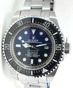 Replica horloge Rolex Sea Dweller Deepsea 06 (James Cameron) 126660 D-Blue Blauw/Zwarte wijzerplaat (44mm)
