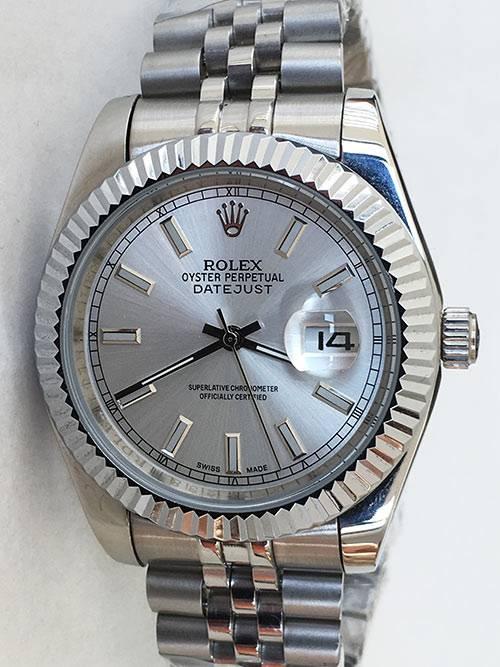 Replica Uhr Rolex Datejust 27 (41 mm) 126334 Jubilee band (Graues Zifferblatt) Edelstahl 316L Automatikwerk