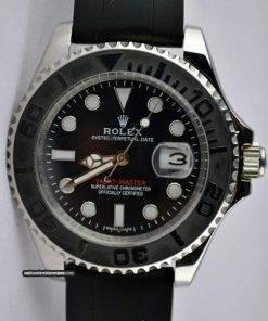 Replica uhr Rolex Yacht master 03/1 (40mm) 126621 Schwarzes Zifferblatt Edelstahl 316L Automatikwerk