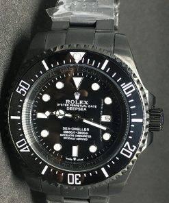 Replica Uhr Rolex Sea Dweller 03 Deepsea (44mm) Jacques Piccard Edition 116660 Black (schwarzes Zifferblatt) Oystersteel Edelstahl 316L Automatikwerk