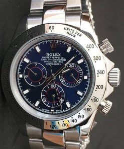 Replica Uhr Rolex Daytona 07 cosmograph (40 mm) 116509 (Blaues zifferblatt) Oystersteel Edelstahl 316L Automatikwerk