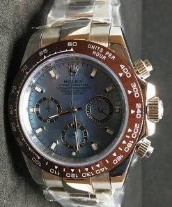 Replica Uhr Rolex Daytona 06 cosmograph (40 mm) 116509 (Blaues zifferblatt) Oystersteel Edelstahl 316L Automatikwerk