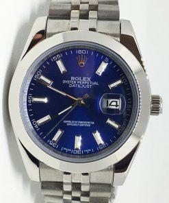Replica Uhr Rolex Datejust 22 (40 mm) 126300 Jubilee band (Blaues Zifferblatt) Edelstahl 316L Automatikwerk