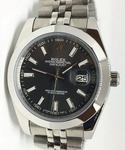 Replica Uhr Rolex Datejust 21 (40 mm) 126300 Jubilee band (Graues Zifferblatt) Edelstahl 316L Automatikwerk