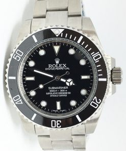 """Replica Uhr Rolex Submariner 07 (40 mm) 116613LN """"schwarz"""" Oystersteel (schwarzes Zifferblatt) Edelstahl 316L Automatikwerk"""